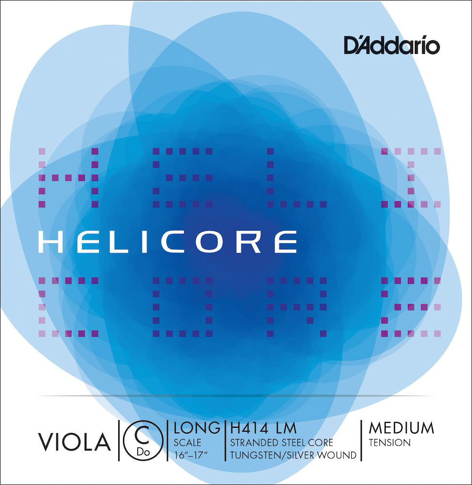 HELICORE VIOLA SINGLE C STRING LONG SCALE MEDIUM TENSION