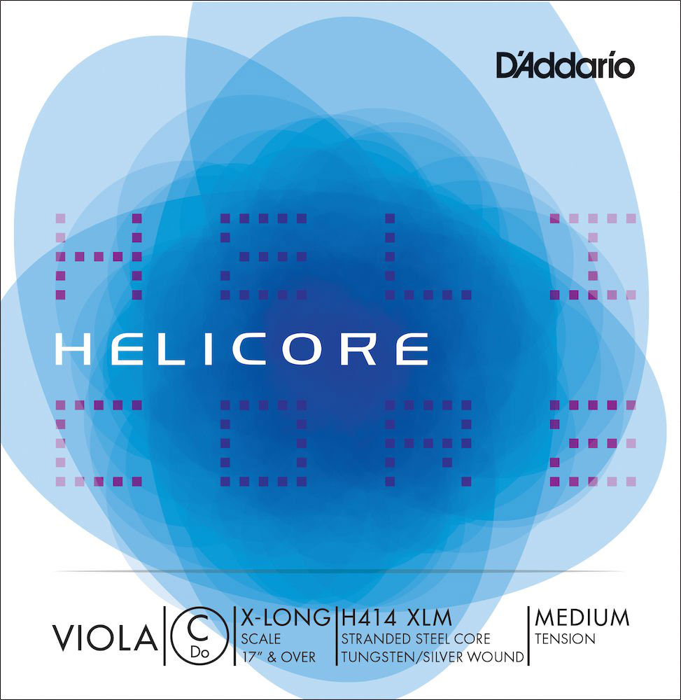 HELICORE H414 C STRING WITH MEDIUM DRAFT FOR VERY LARGE VIOLA