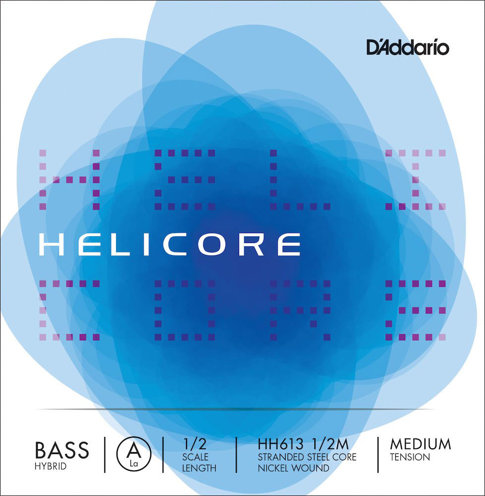 HELICORE HH613 HYBRID HYBRID A STRING MEDIUM PULL FOR DOUBLE BASS 1/2
