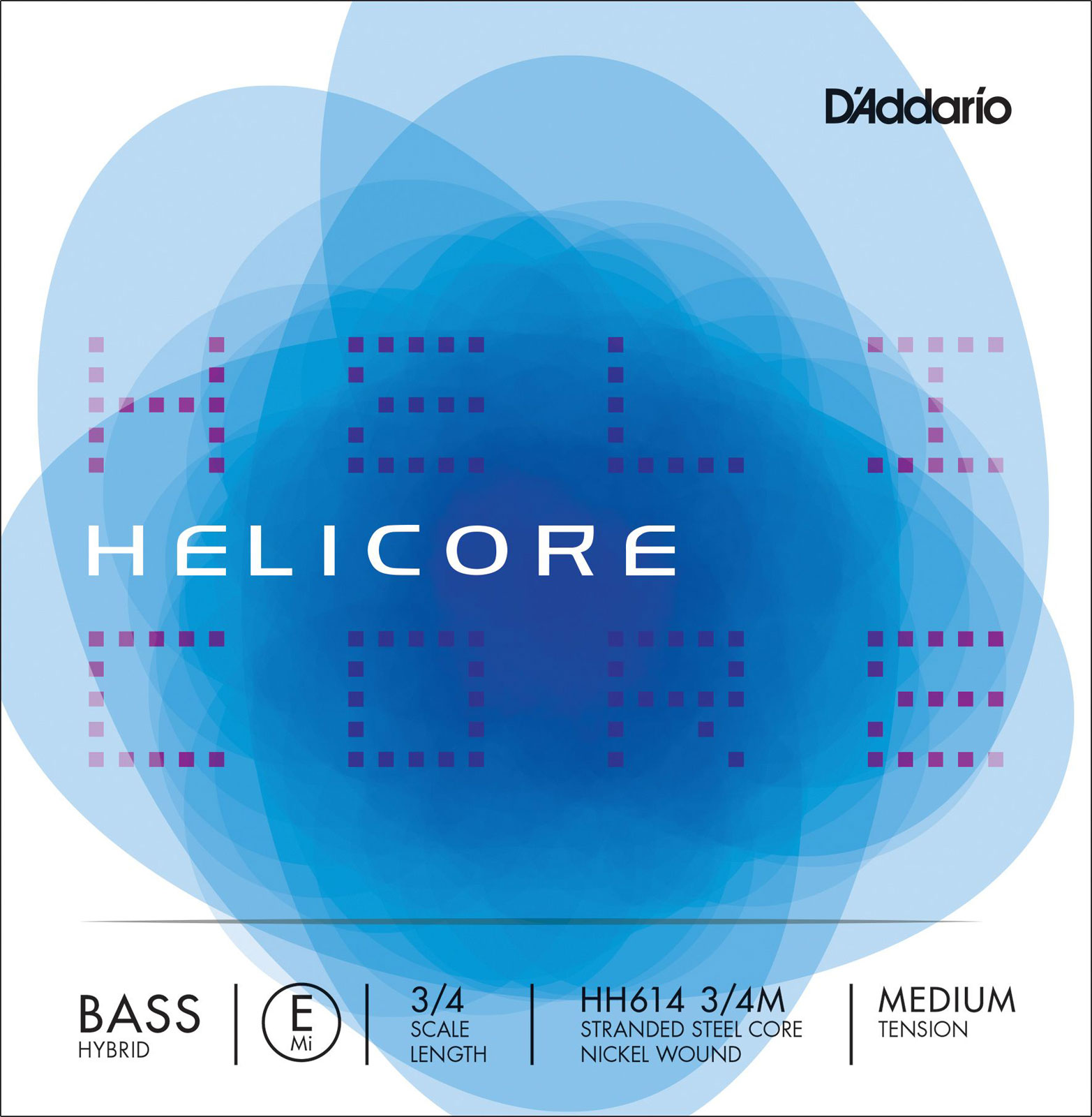3/4 HELICORE HYBRID BASS SINGLE E STRING SCALE MEDIUM TENSION