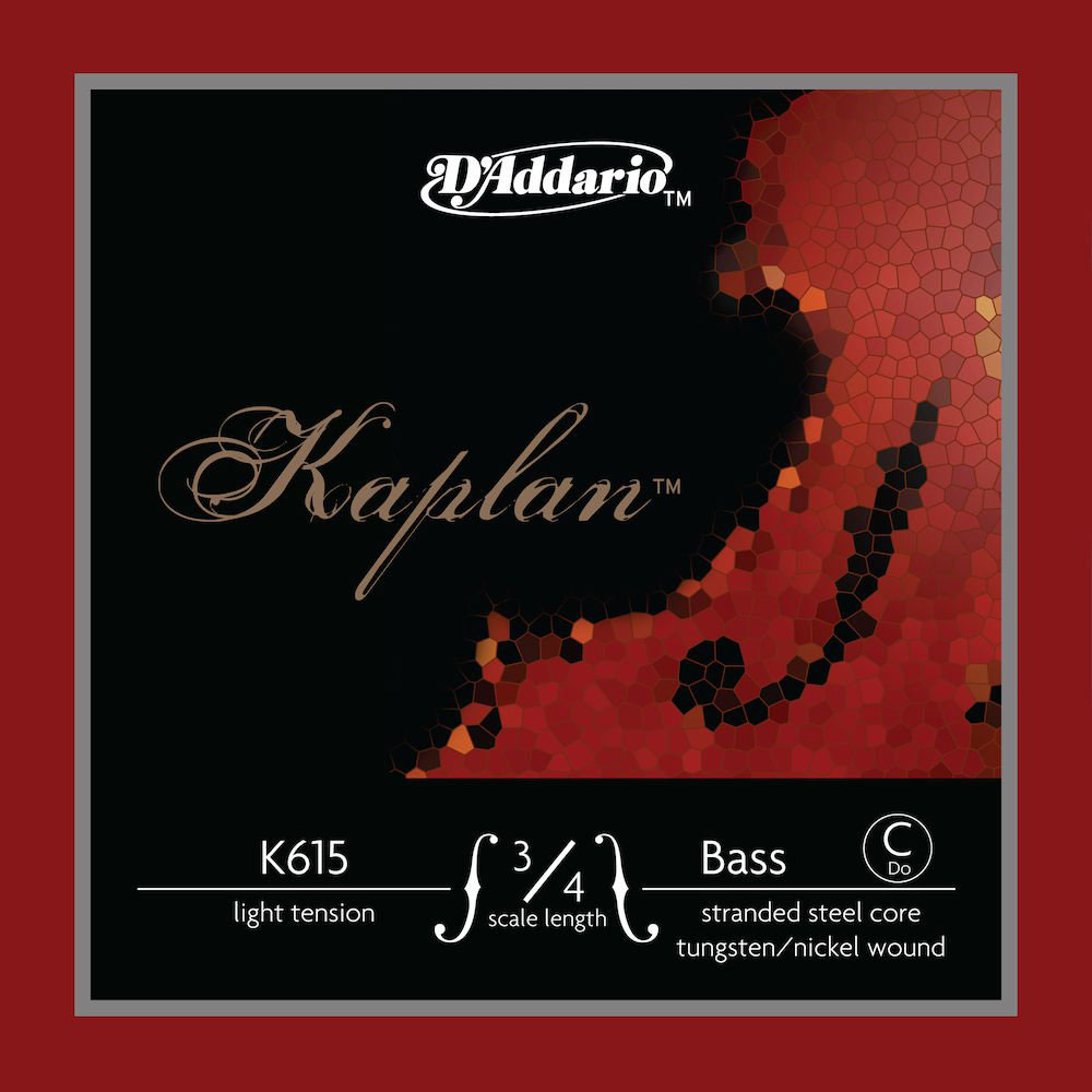 STRING ONLY (C E EXTENDED) FOR DOUBLE BASS KAPLAN HANDLE 3/4 TENSION LIGHT