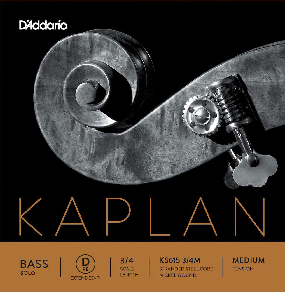 STRING ONLY (EXTENDED) FOR DOUBLE BASS 3/4 KAPLAN SOLO MEDIUM TENSION