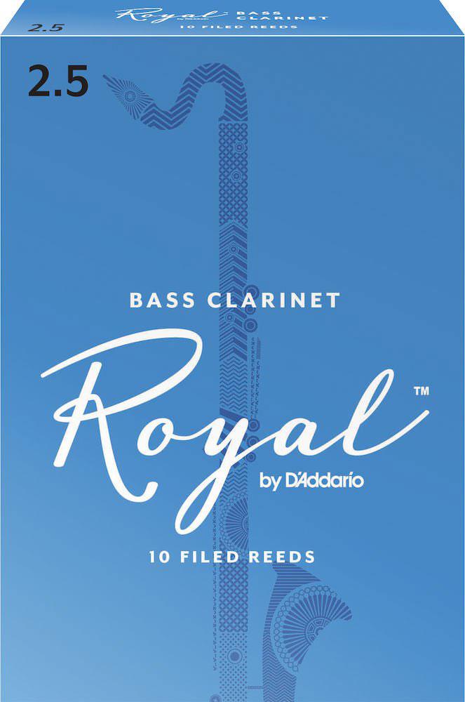 Rico Anches De Clarinette Basse Royal 2.5