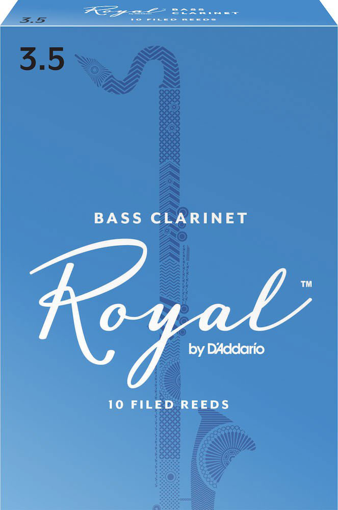 Rico Anches De Clarinette Basse Royal 3.5