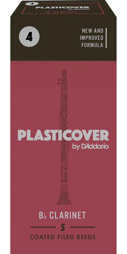 Rico Anches Clarinette Sib Plasticover Force 4.0 Pack De 5