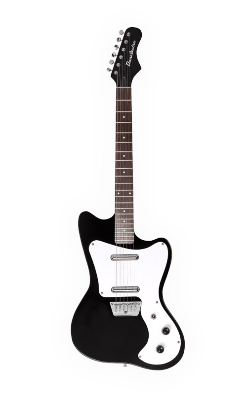 danelectro 67 heaven black guitar buy online free. Black Bedroom Furniture Sets. Home Design Ideas