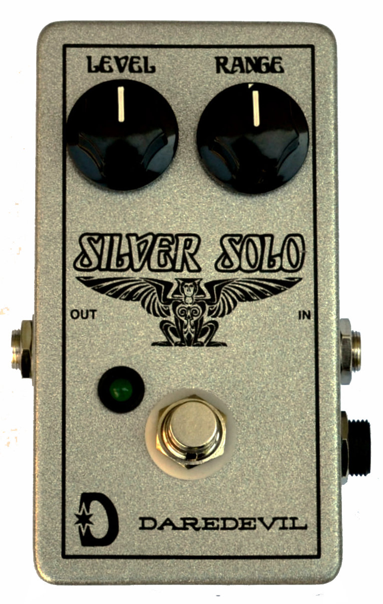 Daredevil pedals silver solo guitar buy online free