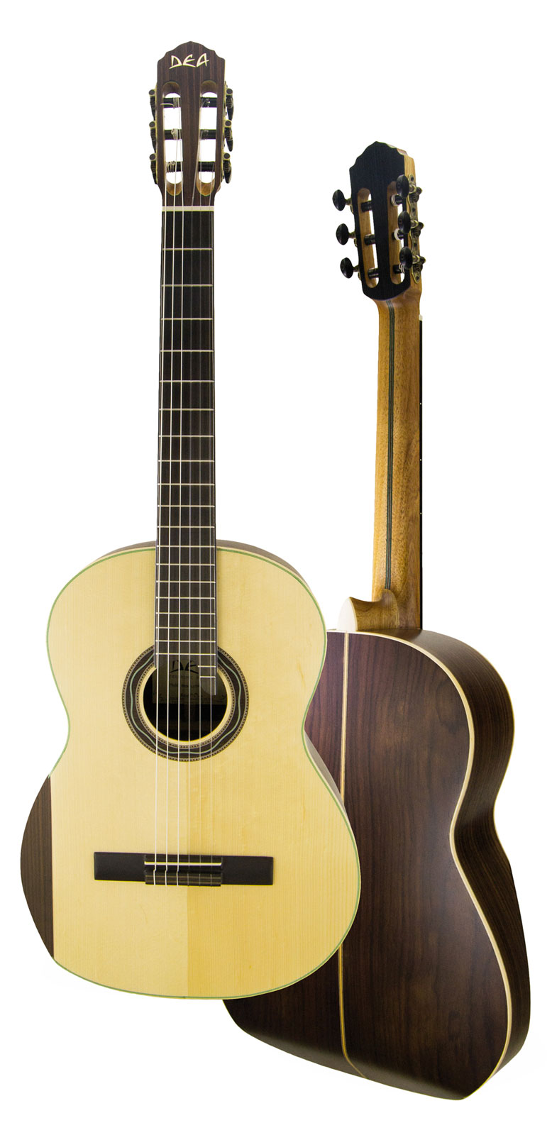 Dea Ergonomic Ergonomic Luthier Natural Gloss Avec Etui