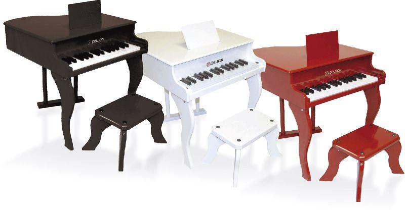 48€48 Sur Delson 3005R Piano À Queue Pour Enfant Rouge - Achat