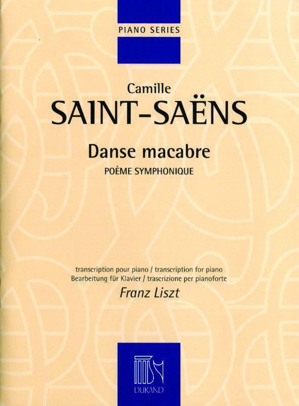 Saint-saens C. - Danse Macabre - Piano