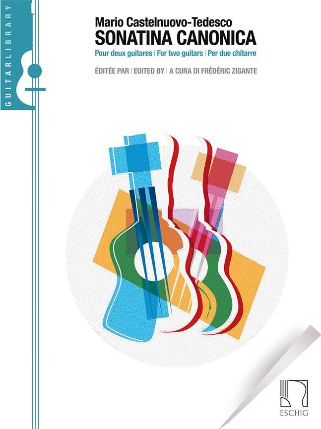 Castelnuovo-tedesco M. - Sonatina Canonica - 2 Guitares