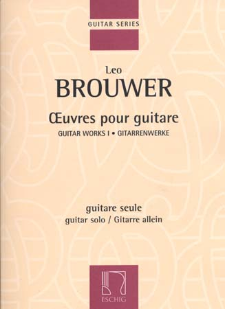 BROUWER LEO - OEUVRES POUR GUITARE