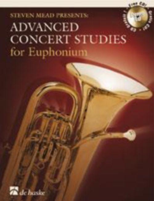 Steven Mead Presents: Advanced Concert Studies - Euphonium Cle De Sol + Cd