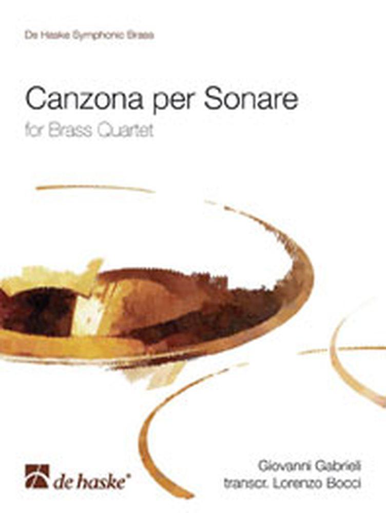 Gabrieli G. - Canzona Per Sonare - Quatuor Cuivres