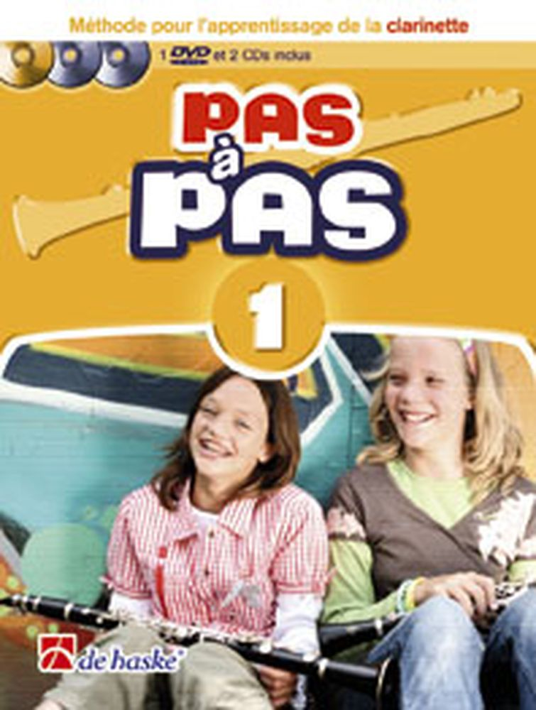 PAS A PAS CLARINETTE VOL.1 + CD