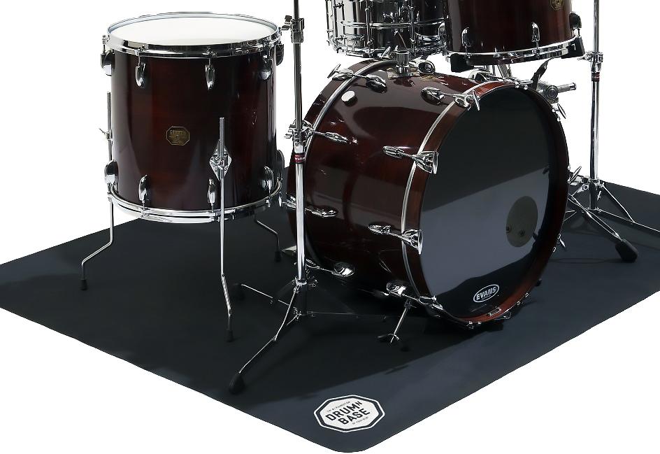 Drum N Base Dnb Tapis De Batterie Et Percussions Antid Rapant Pliant 180 X 140 Cm