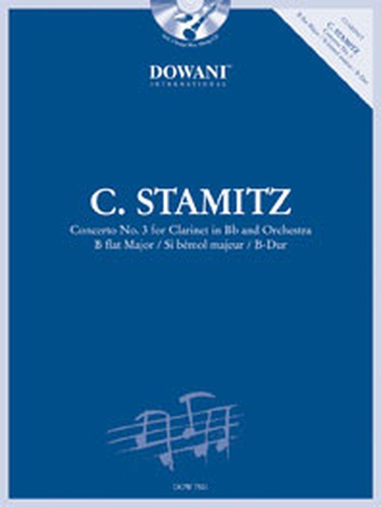 Stamitz C. - Concerto N°3 Bb-major + Cd - Clarinette, Piano