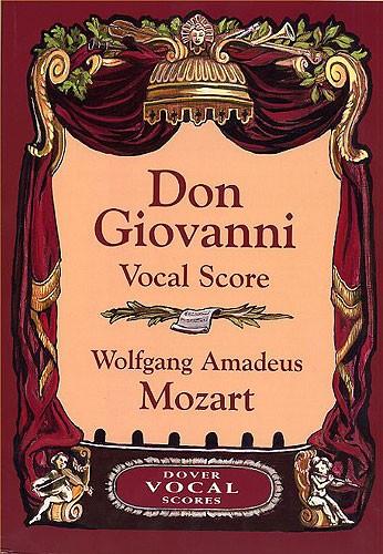 Mozart Wolfgang Amadeus - Don Giovanni Vocal Score - Opera