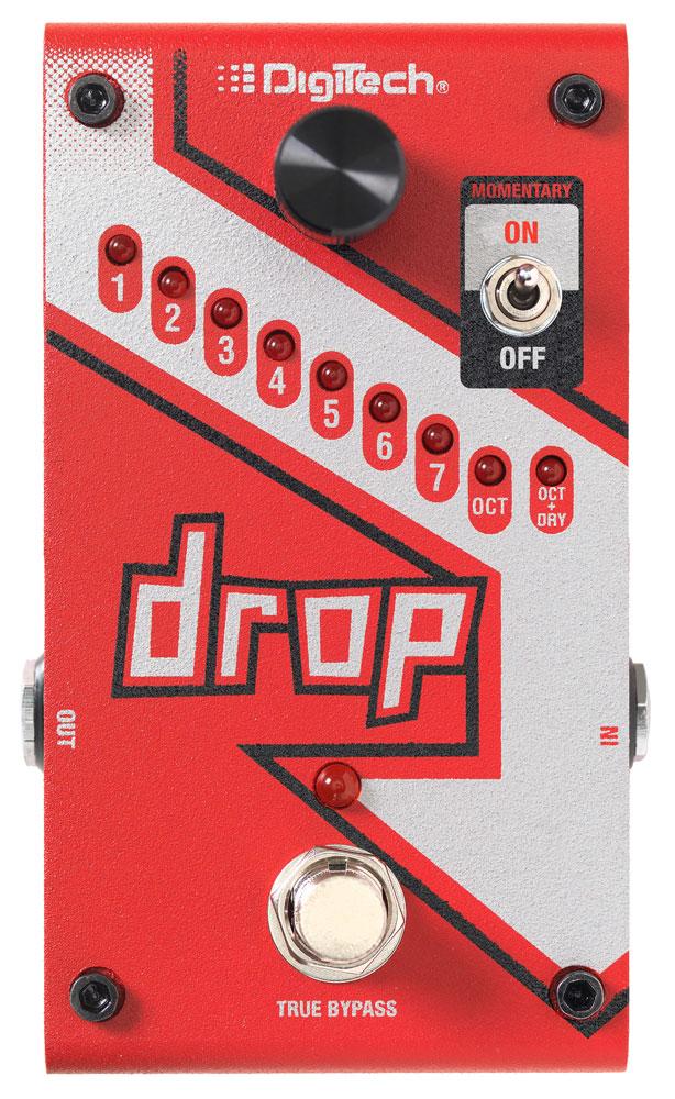 Digitech Drop Pedale Droptune Polyphonique