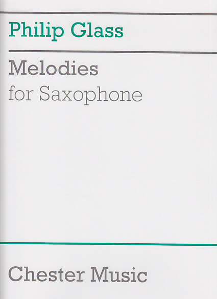 Glass Philip - Melodies - Saxophone