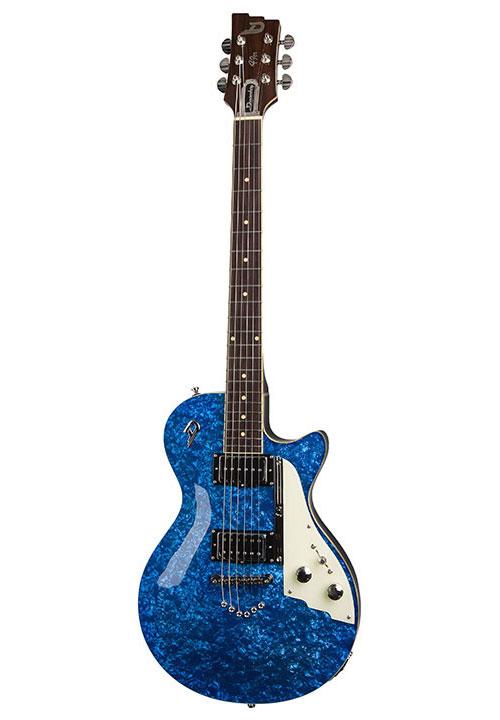 Duesenberg 49er Blue Perloid + Etui