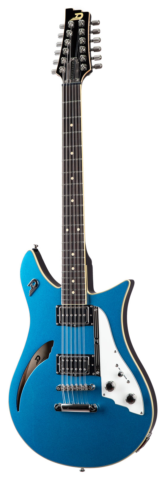 Duesenberg Double Cat 12-string Catalina Blue