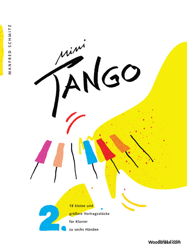 Edition breitkopf schmitz manfred mini tango vol.2 piano 6 hands