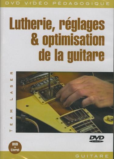 Laser  Lutherie, Reglages & Optimisation De La Guitare Dvd (Guitar ~ Bois De Lutherie Guitare