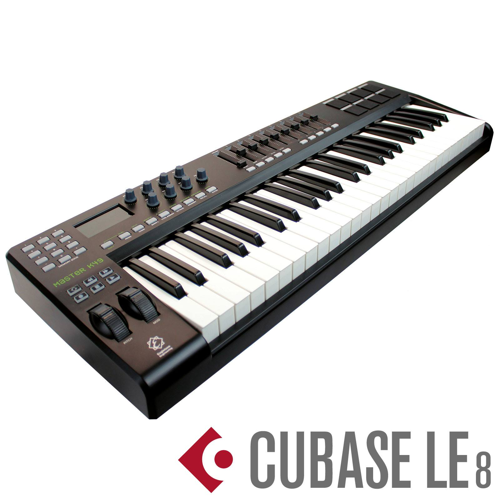 clavier ma tre usb midi 49 touches m audio keystation 49es accessories studio live buy. Black Bedroom Furniture Sets. Home Design Ideas