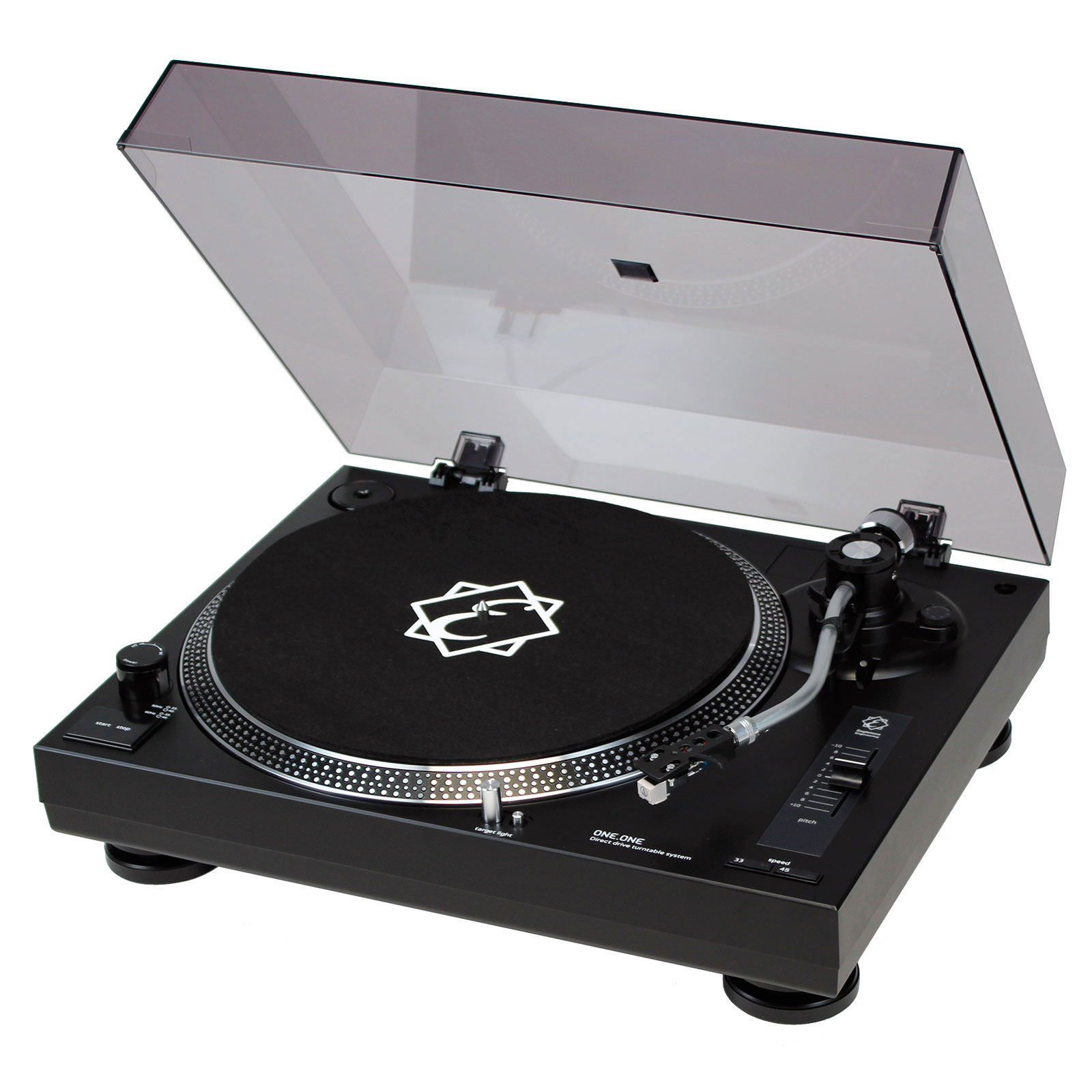 dj tech vinyl usb 10 v2 platine vinyle usb noire mk2 noel. Black Bedroom Furniture Sets. Home Design Ideas
