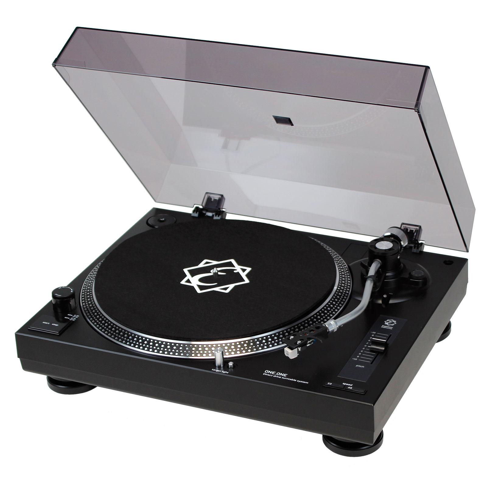 dj tech vinyl usb 10 v2 platine vinyle usb noire mk2 noel dj tools buy online free. Black Bedroom Furniture Sets. Home Design Ideas