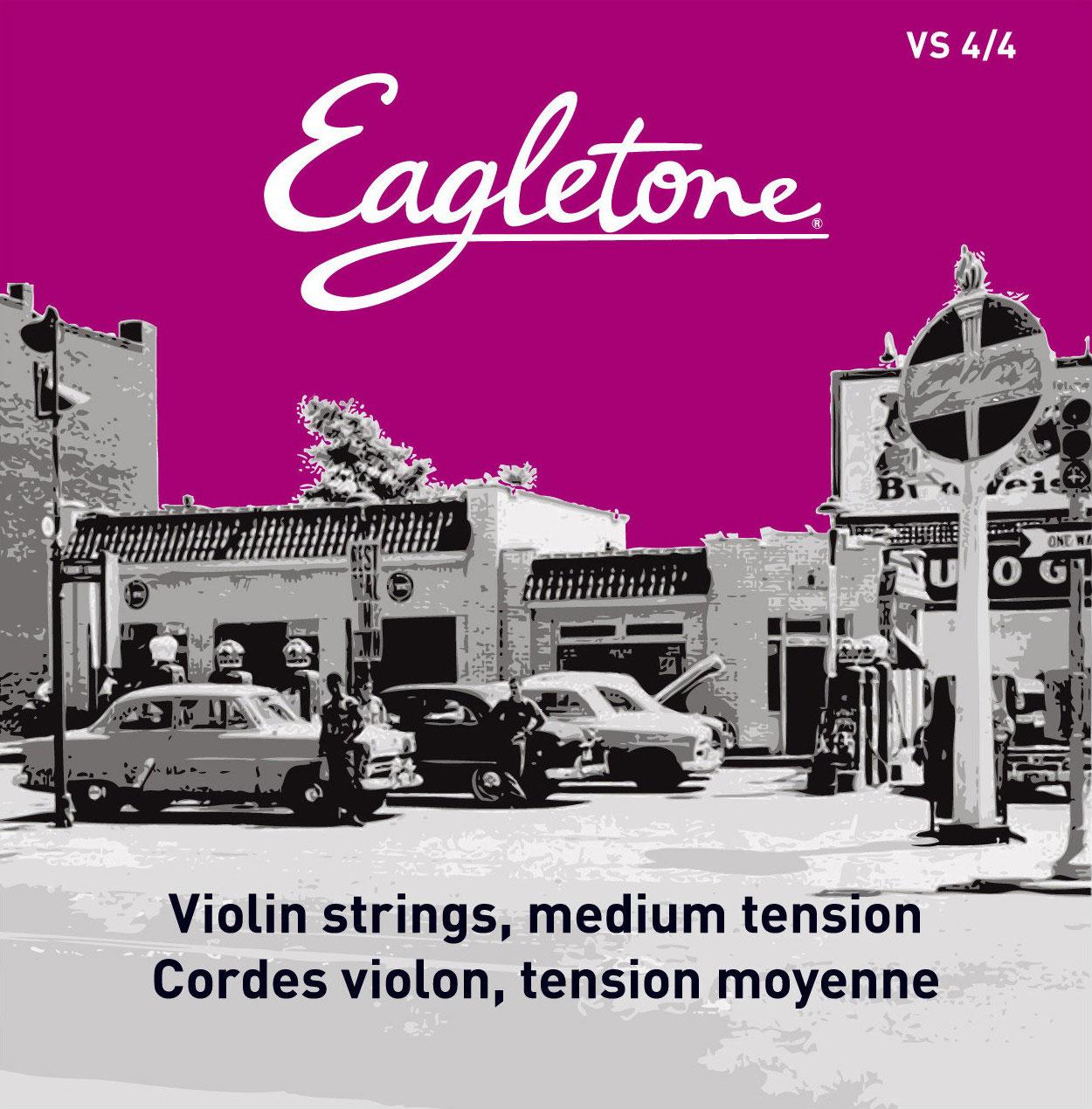 Eagletone Violon 4/4 Vs Jeu De Cordes