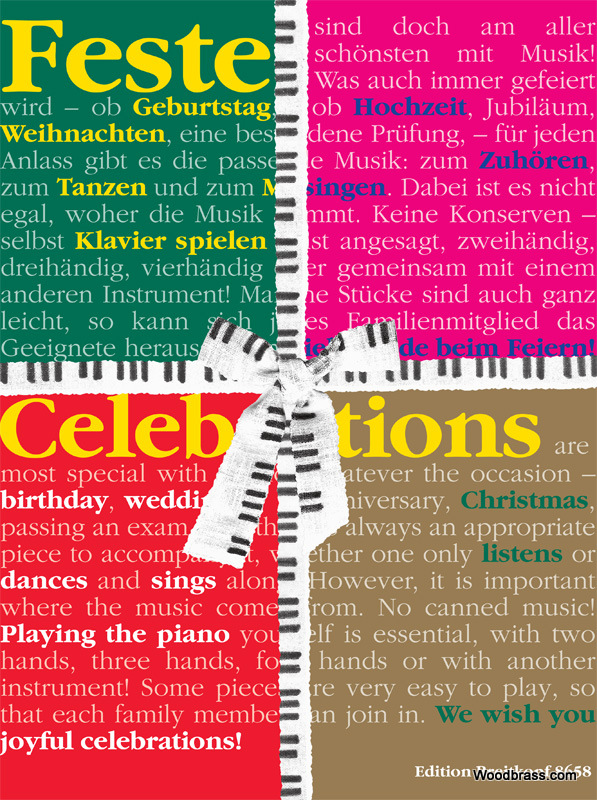 Celebrations - Piano Pieces For Special Occasions