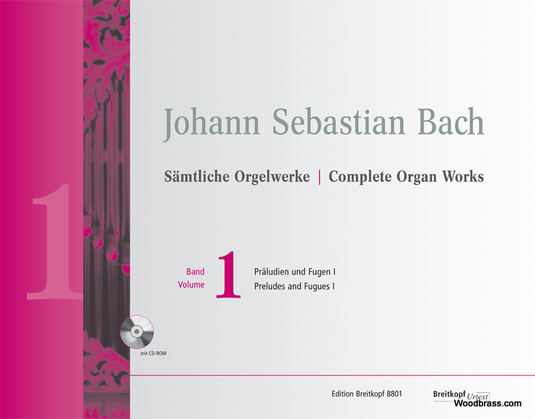 Bach J.s. - Complete Organ Works Vol.1 - Preludes And Fugues I + Cd-rom