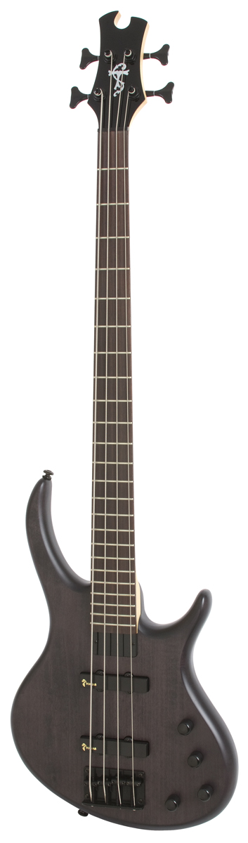 Epiphone Toby Deluxe Iv Bass Trans Black