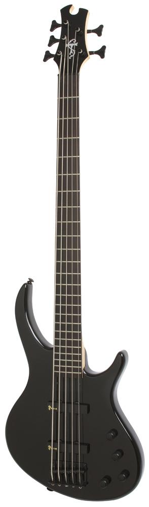 Epiphone Toby Deluxe V Bass (gloss) Ebony