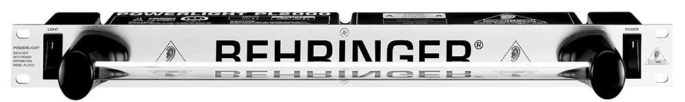 Behringer - powerlight pl2000 rack eclairage et alimentation 8 prises
