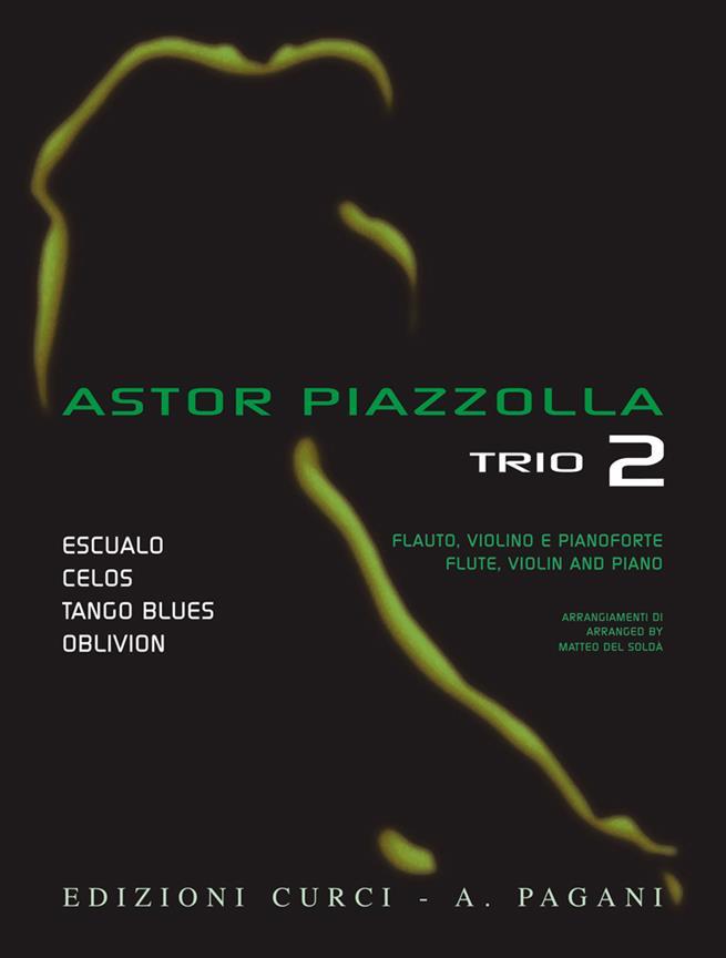 Piazzolla Astor - Trio Vol.2 - Flute, Violon and Piano