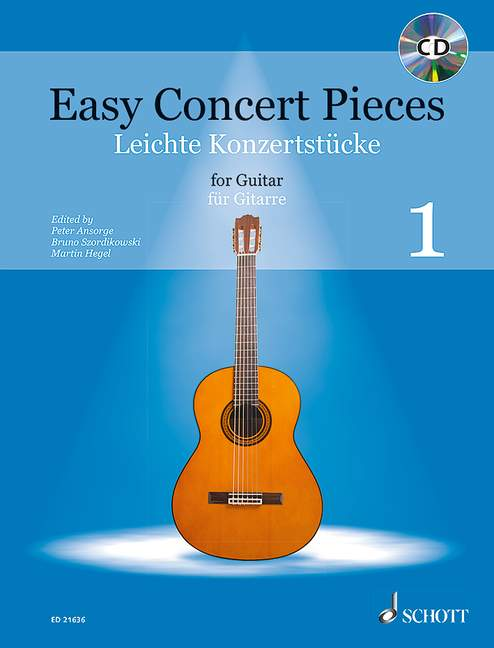 EASY CONCERT PIECES BAND 1 - GUITARE