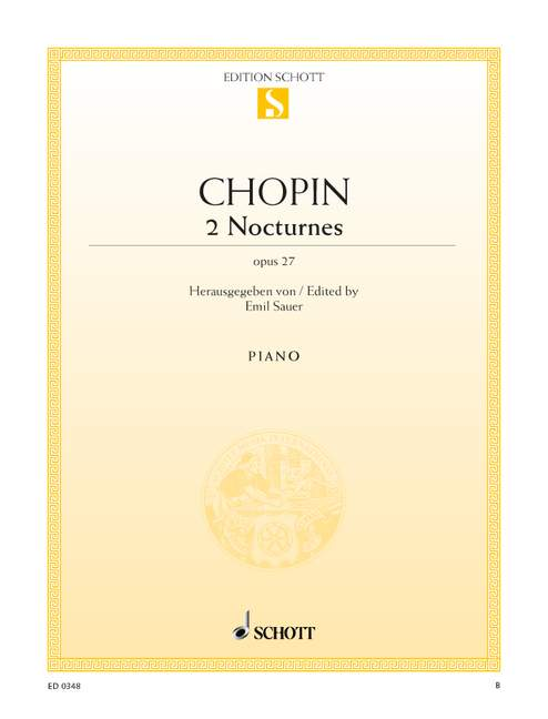 Chopin Frederic - Two Nocturnes Op. 27 - Piano
