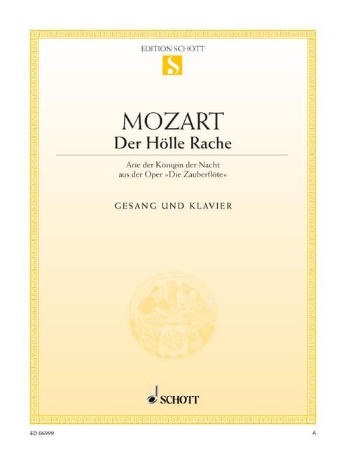 Mozart W.a. - The Magic Flute - Coloratura Soprano And Piano