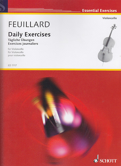 Feuillard Louis R. - Exercices Journaliers Violoncelle