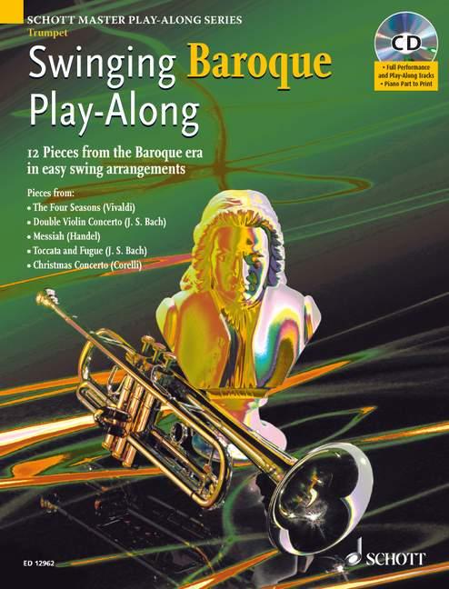 Swinging Baroque Play-along + Cd - Trumpet