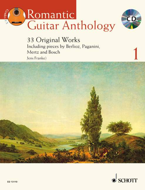 Franke Jens  - Romantic Guitar Anthology Vol. 1 + Cd - Guitar
