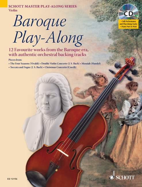 Baroque Play-along - Violin