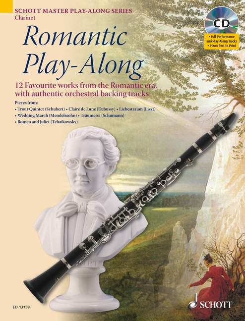 Romantic Play-along + Cd - Clarinet