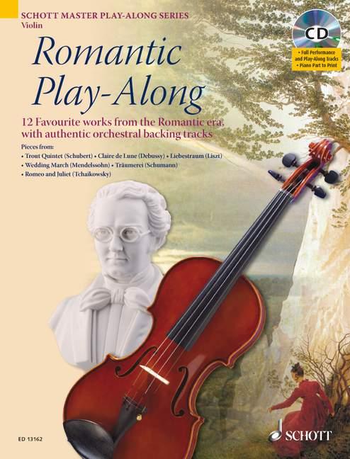 Romantic Play-along - Violin