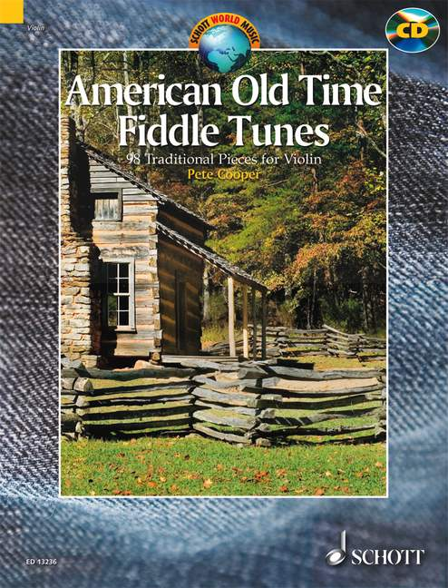 Schott american old time fiddle tunes cd violin