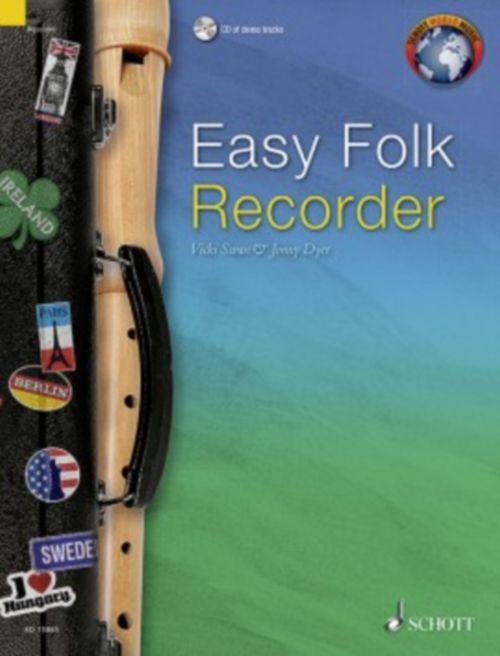 Easy Folk Recorder + Cd
