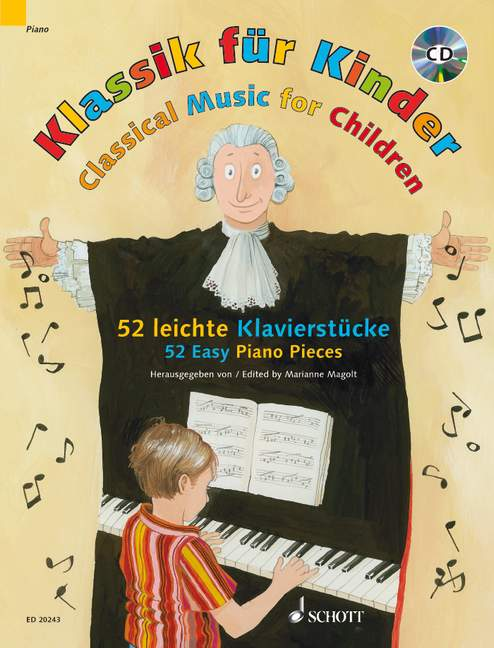 MAGOLT MARIANNE - CLASSICAL MUSIC FOR CHILDREN + CD - PIANO